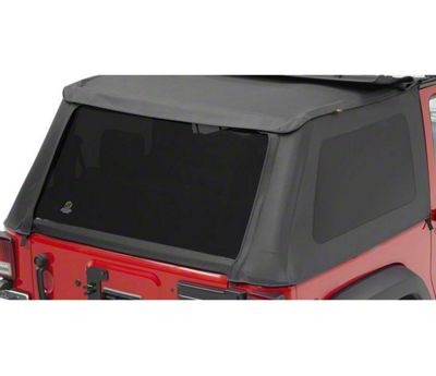 Bestop Tinted Replacement Window Set for Trektop NX (07-18 Jeep Wrangler JK 2 Door)