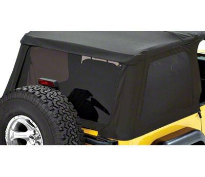Bestop Tinted Replacement Window Set for Trektop NX - Black Denim (97-06 Jeep Wrangler TJ, Excluding Unlimited)