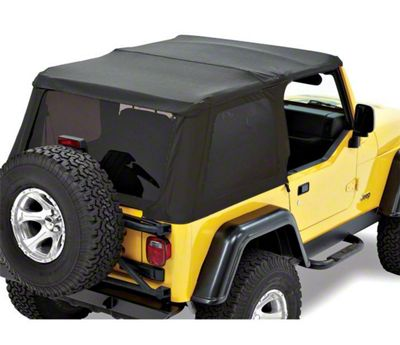Bestop Trektop NX Replace-a-Top - Black Denim (97-06 Jeep Wrangler TJ, Excluding Unlimited)
