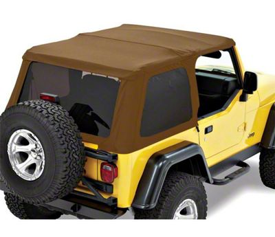Bestop Trektop NX Replace-a-Top - Spice (97-06 Jeep Wrangler TJ, Excluding Unlimited)