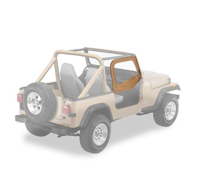 Bestop Upper Door Skins - Spice (97-06 Jeep Wrangler TJ)