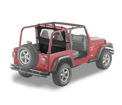 Bestop Windjammer - Black Denim (97-02 Jeep Wrangler TJ)