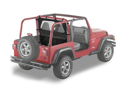 Bestop Windjammer - Black Diamond (03-06 Jeep Wrangler TJ)