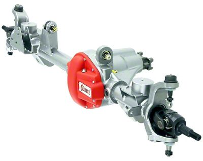 Currie RockJock 44 Front Crate Axle w/ Detroit Locker - 5.38 Ratio (07-18 Jeep Wrangler JK)