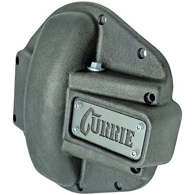 Currie Iron Differential Cover for RockJock/Dana 44 Housings - Unpainted (07-18 Jeep Wrangler JK)