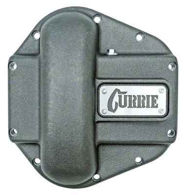 Currie Iron Differential Cover for RockJock/Dana 60 & 70 Housings - Unpainted (07-18 Jeep Wrangler JK)