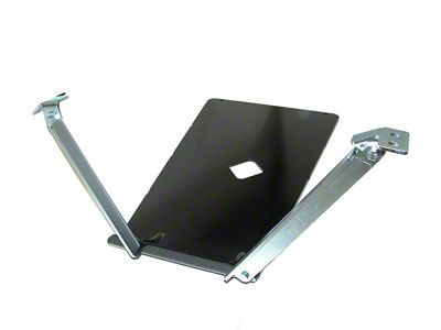 Skid Row Off-Road Long Arm Engine/Transmission Skid Plate for 16 in. Dimension (97-06 4.0L Jeep Wrangler TJ)