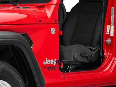 Skid Row Off-Road Foot Pegs (2018 Jeep Wrangler JL)