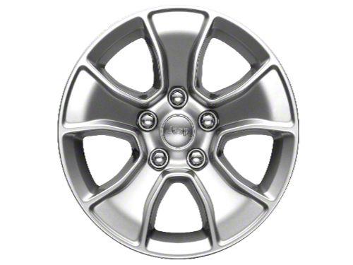 Mopar Gladiator Silver Wheels (07-18 Jeep Wrangler JK; 2018 Jeep Wrangler JL)
