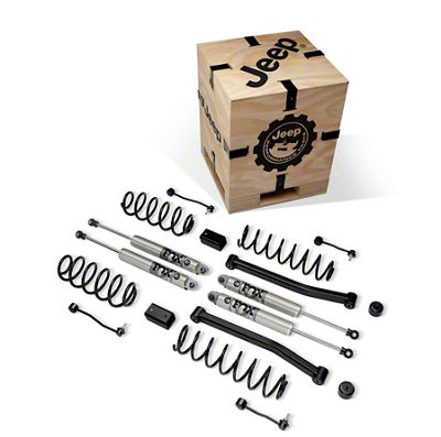 Mopar 2 in. Lift Kit w/ Fox Shocks (18-19 3.6L Jeep Wrangler JL 4 Door)