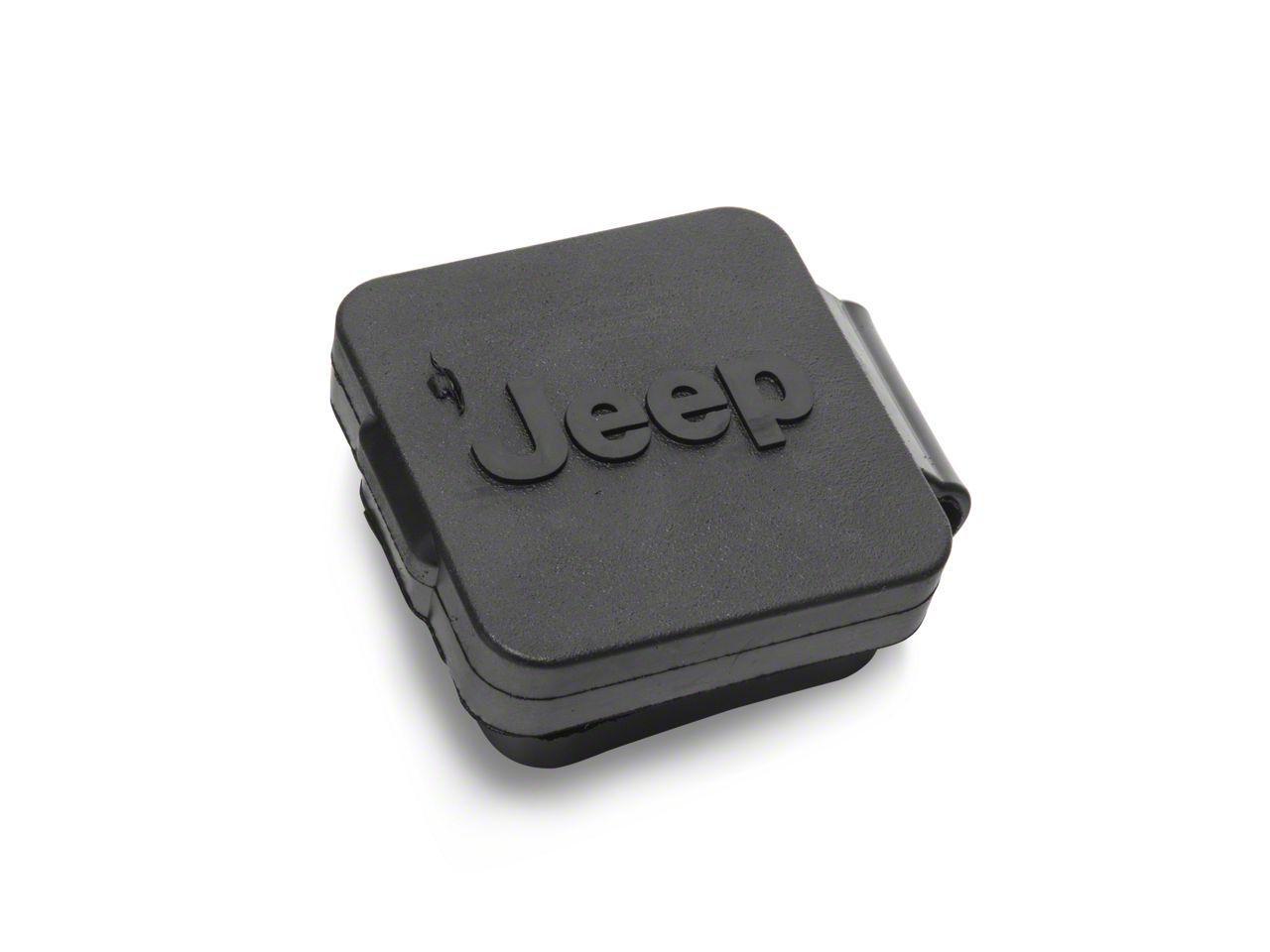 Mopar 2 in. Receiver Hitch Plug (87-18 Jeep Wrangler YJ, TJ, JK & JL)