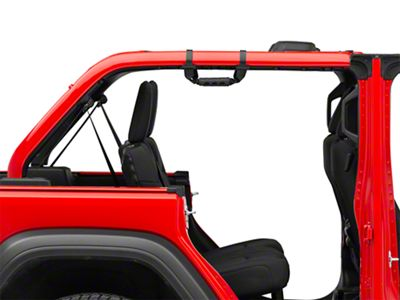 Mopar Rear Grab Handles (18-19 Jeep Wrangler JL 4 Door)