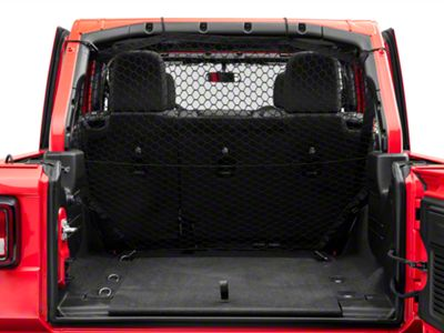 Mopar Rear Seat Pet Partition Net (2018 Jeep Wrangler JL 4 Door)