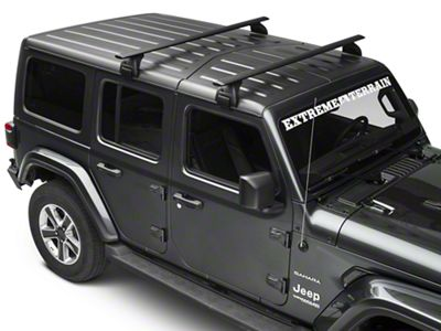 Mopar Removable Roof Rack (2018 Jeep Wrangler JL)