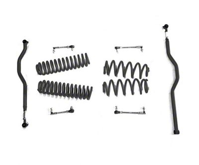 Steinjager 2.5 in. Basic Lift Kit - Black (07-18 Jeep Wrangler JK)