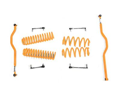 Steinjager 2.5 in. Basic Lift Kit - Fluorescent Orange (07-18 Jeep Wrangler JK)