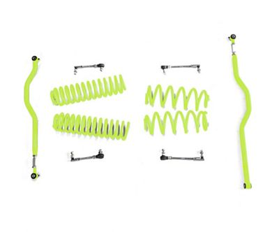 Steinjager 2.5 in. Basic Lift Kit - Gecko Green (07-18 Jeep Wrangler JK)