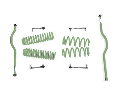 Steinjager 2.5 in. Basic Lift Kit - Locas Green (07-18 Jeep Wrangler JK)