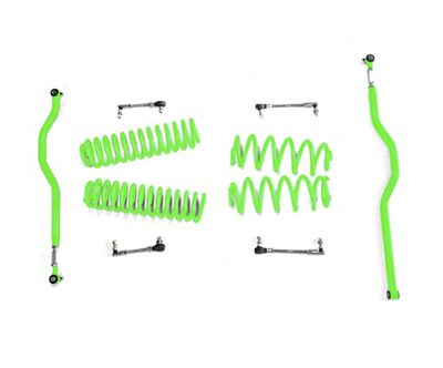 Steinjager 2.5 in. Basic Lift Kit - Neon Green (07-18 Jeep Wrangler JK)