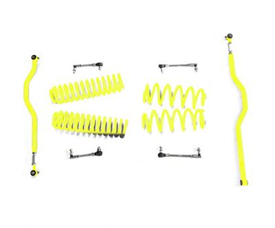 Steinjager 2.5 in. Basic Lift Kit - Neon Yellow (07-18 Jeep Wrangler JK)
