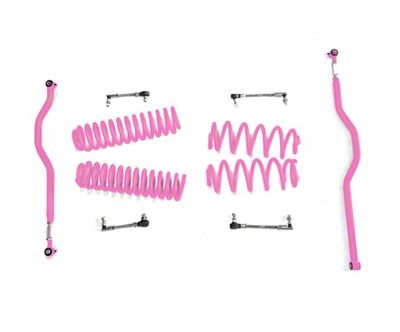 Steinjager 2.5 in. Basic Lift Kit - Pinky (07-18 Jeep Wrangler JK)