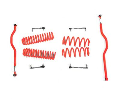Steinjager 2.5 in. Basic Lift Kit - Red Baron (07-18 Jeep Wrangler JK)