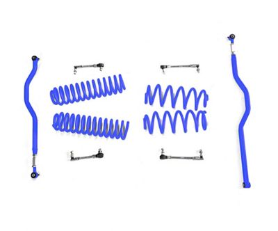 Steinjager 2.5 in. Basic Lift Kit - Southwest Blue (07-18 Jeep Wrangler JK)