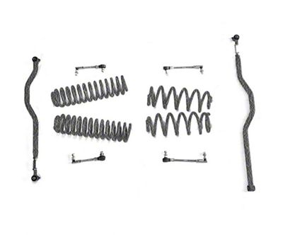 Steinjager 2.5 in. Basic Lift Kit - Textured Black (07-18 Jeep Wrangler JK)