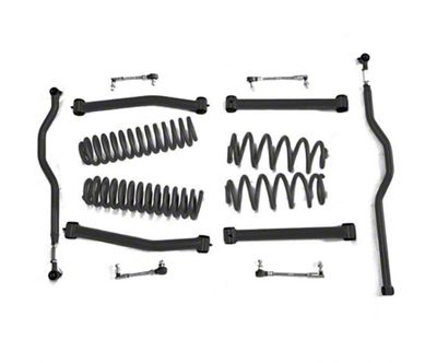 Steinjager 2.5 in. Expanded Lift Kit - Bare Metal (07-18 Jeep Wrangler JK)