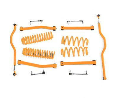 Steinjager 2.5 in. Expanded Lift Kit - Fluorescent Orange (07-18 Jeep Wrangler JK)