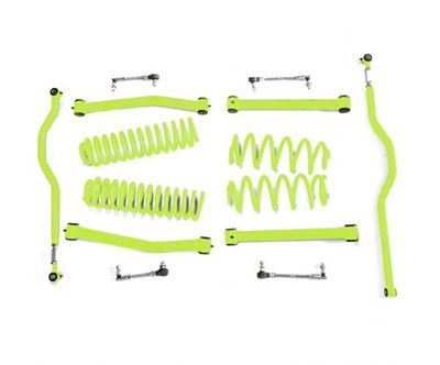 Steinjager 2.5 in. Expanded Lift Kit - Gecko Green (07-18 Jeep Wrangler JK)