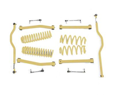 Steinjager 2.5 in. Expanded Lift Kit - Military Beige (07-18 Jeep Wrangler JK)