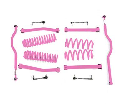 Steinjager 2.5 in. Expanded Lift Kit - Pinky (07-18 Jeep Wrangler JK)