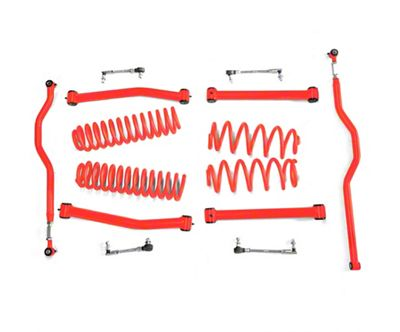 Steinjager 2.5 in. Expanded Lift Kit - Red Baron (07-18 Jeep Wrangler JK)