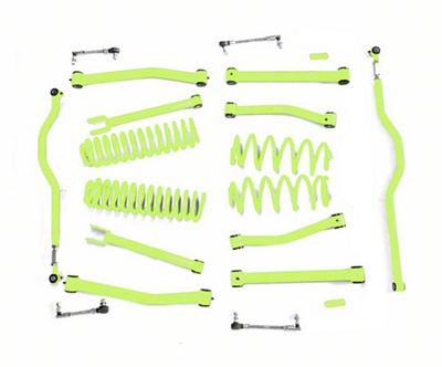 Steinjager 4 in. Advanced Lift Kit - Gecko Green (07-18 Jeep Wrangler JK)