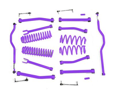 Steinjager 4 in. Advanced Lift Kit - Sinbad Purple (07-18 Jeep Wrangler JK)