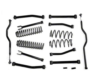 Steinjager 4 in. Advanced Lift Kit w/o End Links - Bare Metal (07-18 Jeep Wrangler JK)