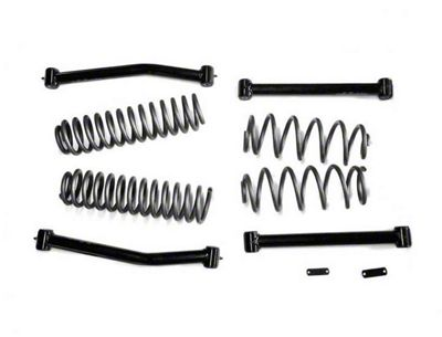 Steinjager 4 in. Lift Kit w/ 4 Control Arms (07-18 Jeep Wrangler JK)