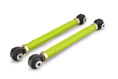 Steinjager Adjustable Front Lower Control Arms for 0-6 in. Lift - Gecko Green (97-06 Jeep Wrangler TJ)
