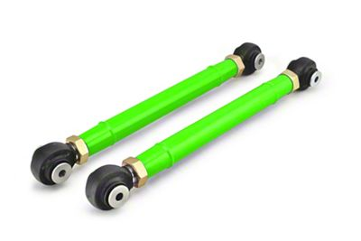 Steinjager Adjustable Front Lower Control Arms for 0-6 in. Lift - Neon Green (97-06 Jeep Wrangler TJ)