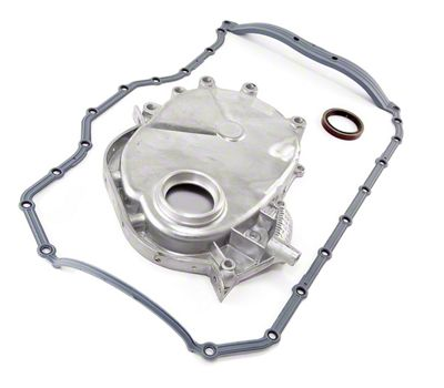 Omix-ADA Engine Timing Cover w/ Molded Rubber Oil Pan Gasket (87-93 2.5L Jeep Wrangler YJ)
