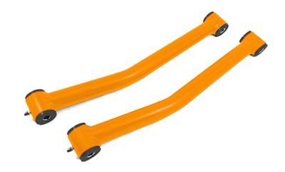Steinjager Stainless Fixed Front Lower Control Arms for 0-2 in. Lift - Fluorescent Orange (07-18 Jeep Wrangler JK)