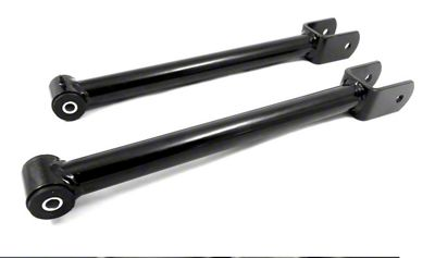 Steinjager Stainless Fixed Front Upper Control Arms for 0-2.5 in. Lift - Black (07-18 Jeep Wrangler JK)