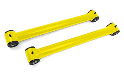 Steinjager Stainless Fixed Rear Lower Control Arms for 0-2.5 in. Lift - Lemon Peel (07-18 Jeep Wrangler JK)