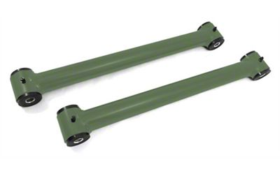 Steinjager Stainless Fixed Rear Lower Control Arms for 0-2.5 in. Lift - Locas Green (07-18 Jeep Wrangler JK)