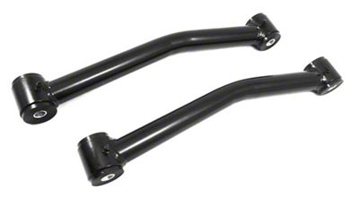 Steinjager Stainless Fixed Rear Upper Control Arms for 0-2.5 in. Lift - Black (07-18 Jeep Wrangler JK)