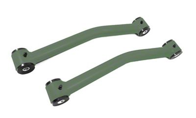 Steinjager Stainless Fixed Rear Upper Control Arms for 0-2.5 in. Lift - Locas Green (07-18 Jeep Wrangler JK)