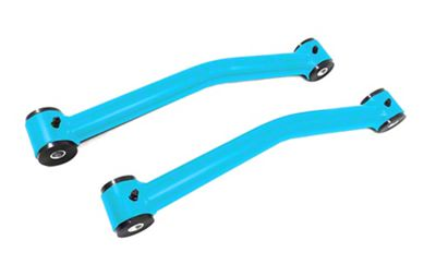 Steinjager Stainless Fixed Rear Upper Control Arms for 0-2.5 in. Lift - Playboy Blue (07-18 Jeep Wrangler JK)