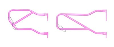 Steinjager Front & Rear Trail Tube Doors - Pinky (07-18 Jeep Wrangler JK 4 Door)
