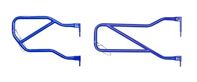Steinjager Front & Rear Trail Tube Doors - Southwest Blue (07-18 Jeep Wrangler JK 4 Door)